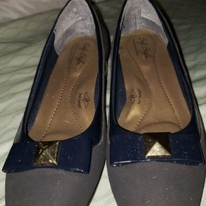 Soft Style Shoes - Navy Shoes